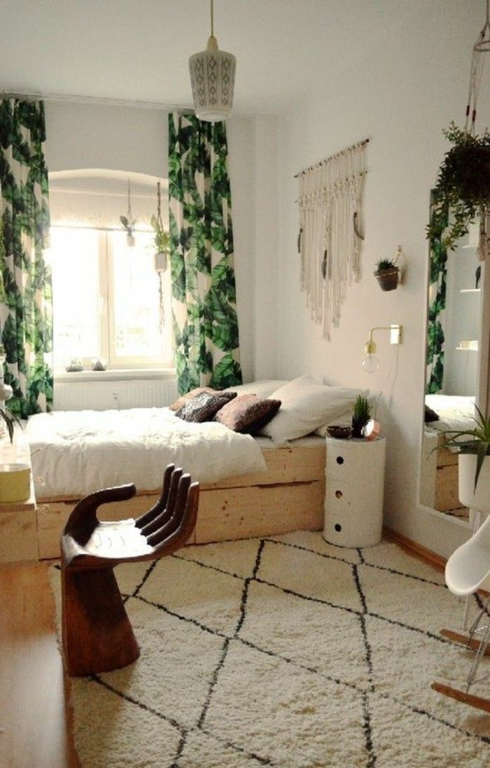 Idées chambre à coucher design en 54 images sur Archzine.fr | Tapis ...