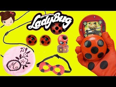 Juguetes De Prodigiosa Ladybug Bolso Marinette Yoyo Miraculous Aretes Juguetes De Titi Youtube Ladybug Cute Pikachu Bloom Winx Club