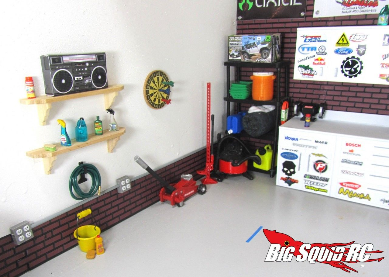 Winter Project Building A Scale Garage With Thetoyz Com Diy Garage Kits Garage Kits Diy Garage
