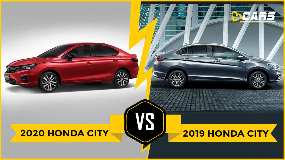 The 2020 Honda City Has Been Revealed For Thailand The New Model Which Is The Fifth Generation City Is Expected To Come To India Honda City Honda New Engine
