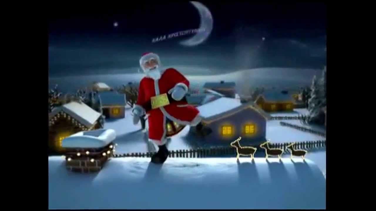 Zingende kerstman!!