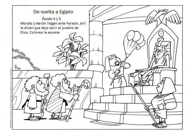 Pin de Bibiana Villa en MOISES | Pinterest | Moses plagues, Bible y ...
