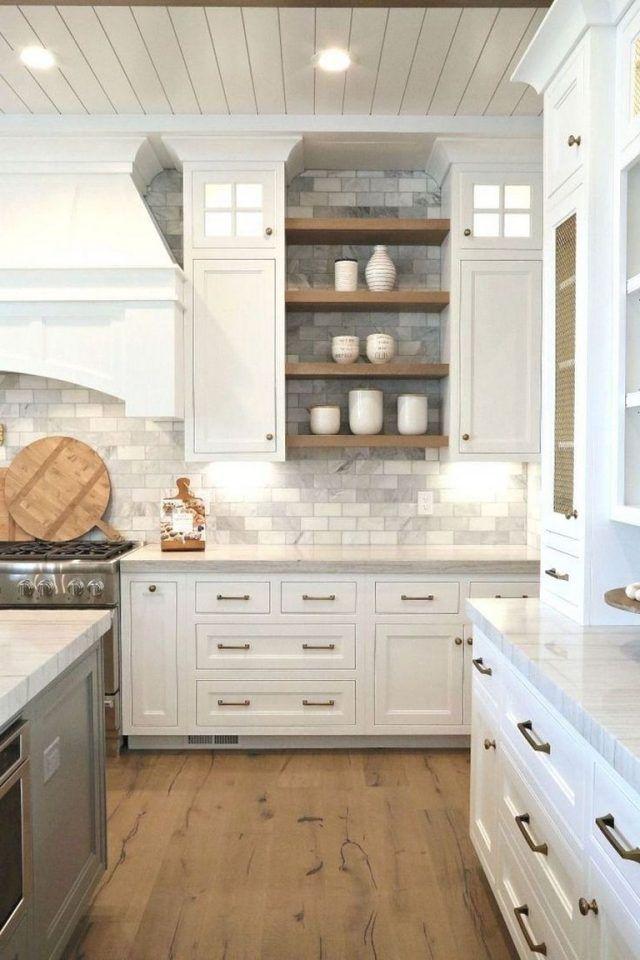 20 Fabulous Kitchen Remodeling Ideas Farmhouse Kitchen Backsplash Backsplash Kitchen White Cabinets Home Kitchens