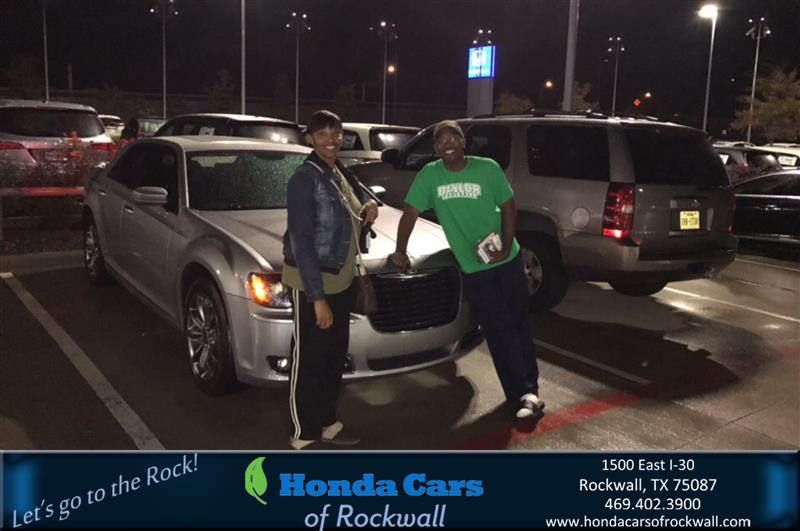 Congratulations keith on your chrysler 300 from abraham