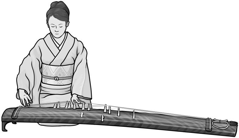 [ soh ] stringed instruments