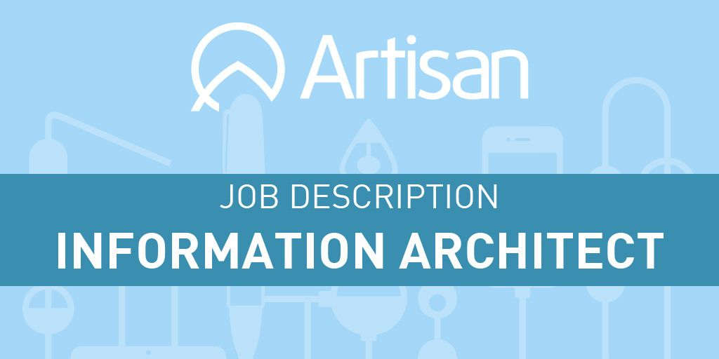 Information Architect Job Description Including Software