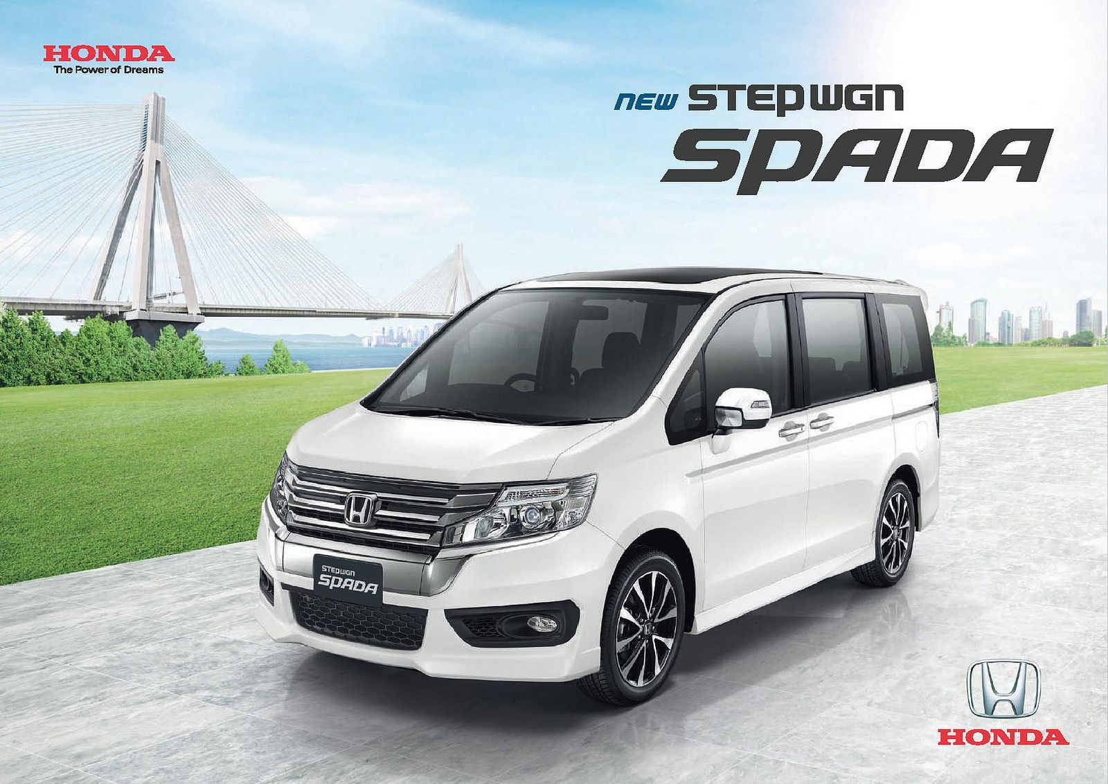 Honda Stepwgn Spada Thailand Brochure 2013 Honda, Thailand, Brochures
