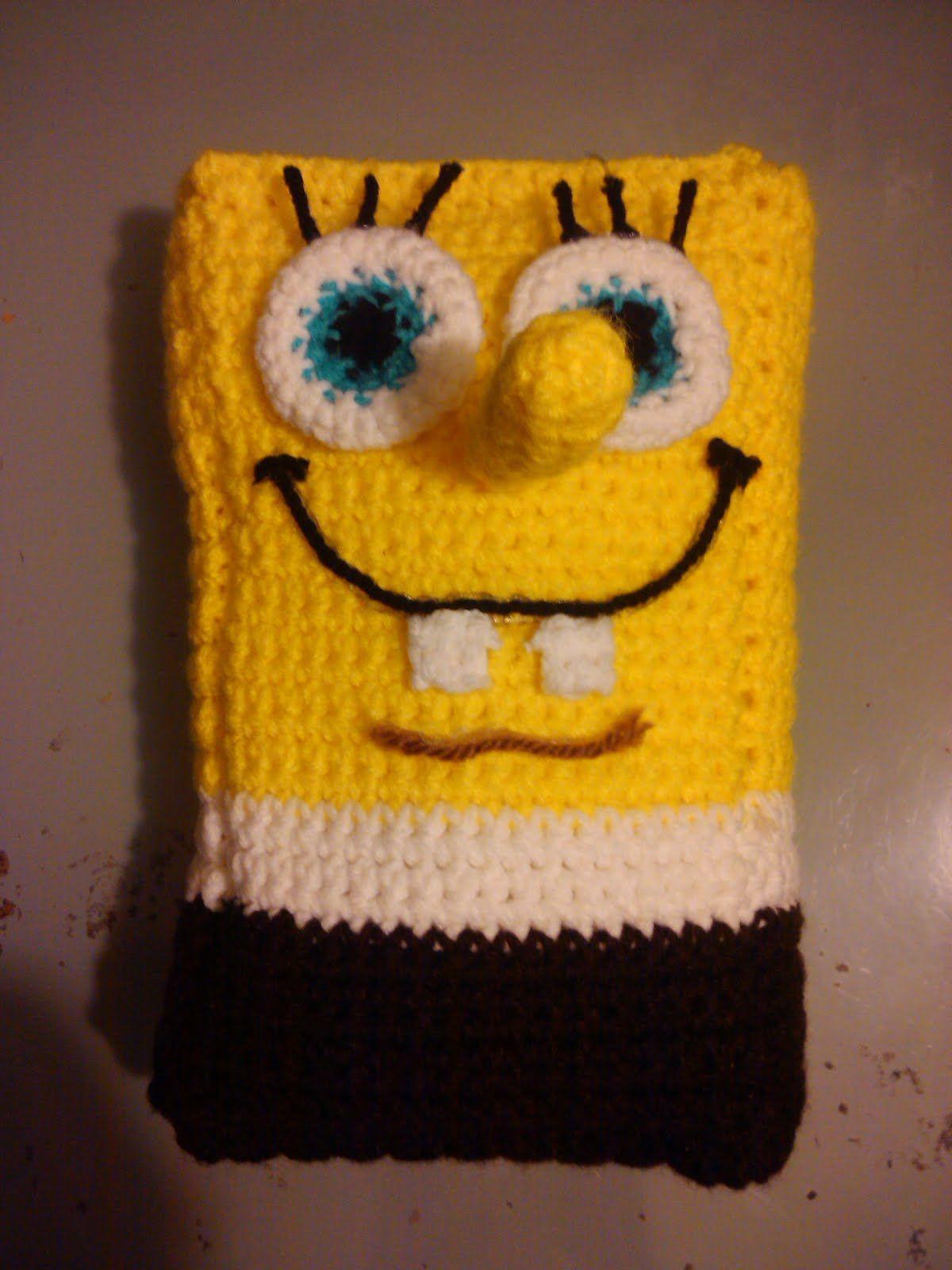 Crochet, it\'s more than a Hobby it\'s an addiction.: Spongebob Pillow ...