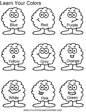 Learn Your Colors Preschool Kids Worksheet Preschool Colors Preschool Worksheets Preschool Kids