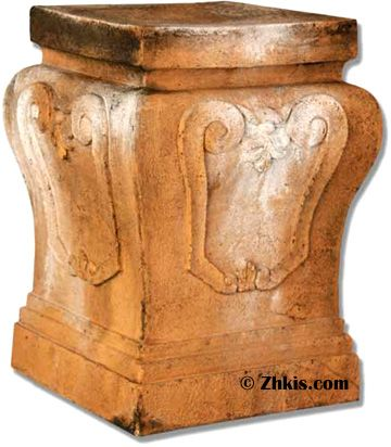 Decorative Large Urns Captivating Large Double Scroll Pedestal  Urn And Display Design Inspiration