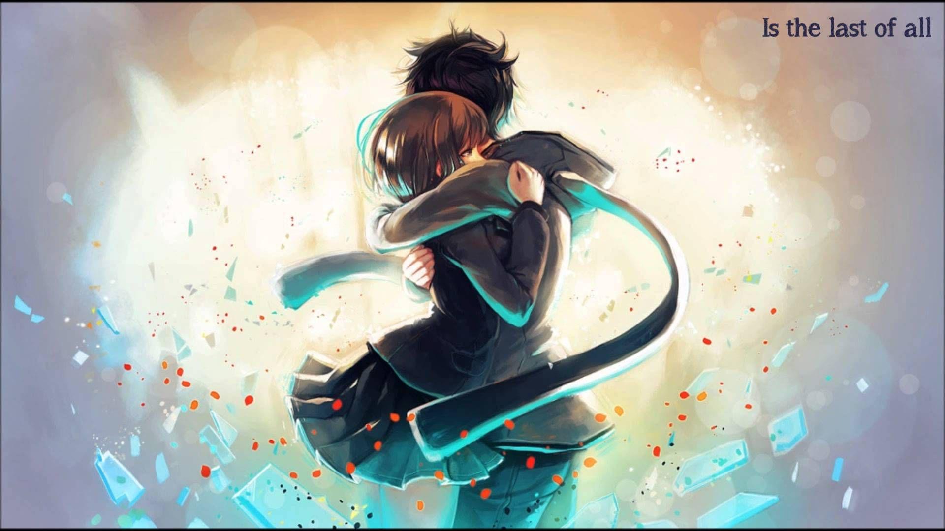 Nightcore Demons Hd Anime Wallpapers Romantic Anime Anime Hug