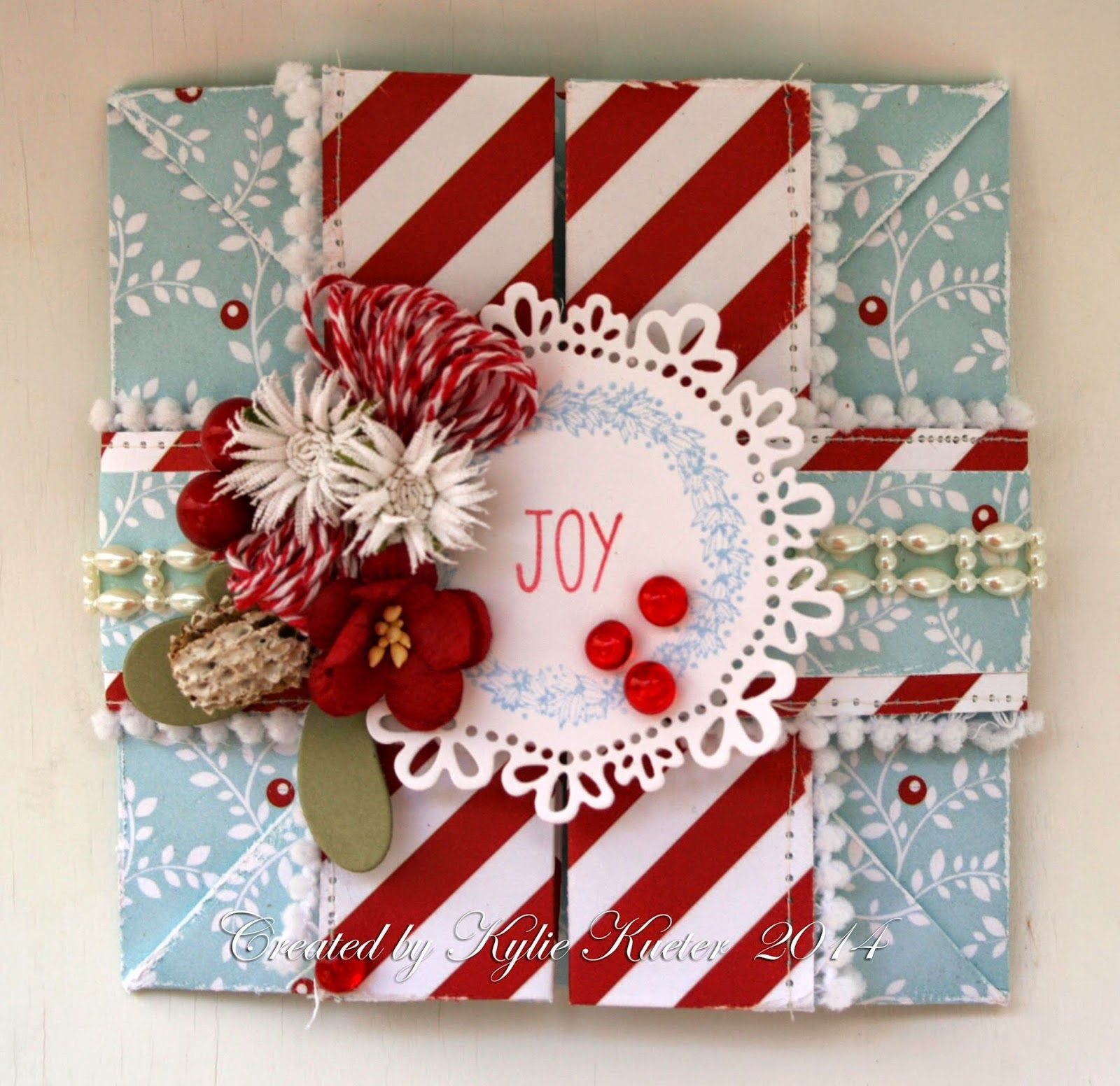 Ribbon Girl Card Challennge - Christmas