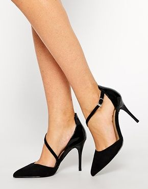 ASOS – PERHAPS – Spitze Schuhe mit hohem Absatz   Beauty   Pinterest ... 8de0d3b5df