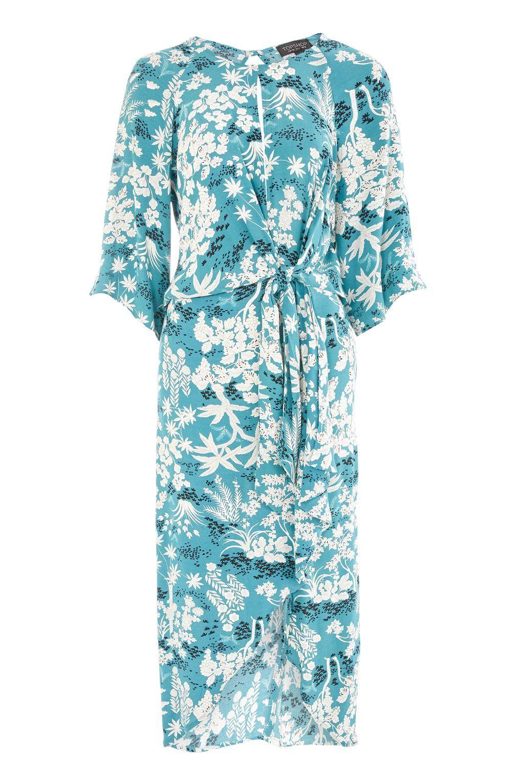 1171f055df Fern Print Knot Front Shift Dress | Oriental | Dresses, Clothes, Fashion