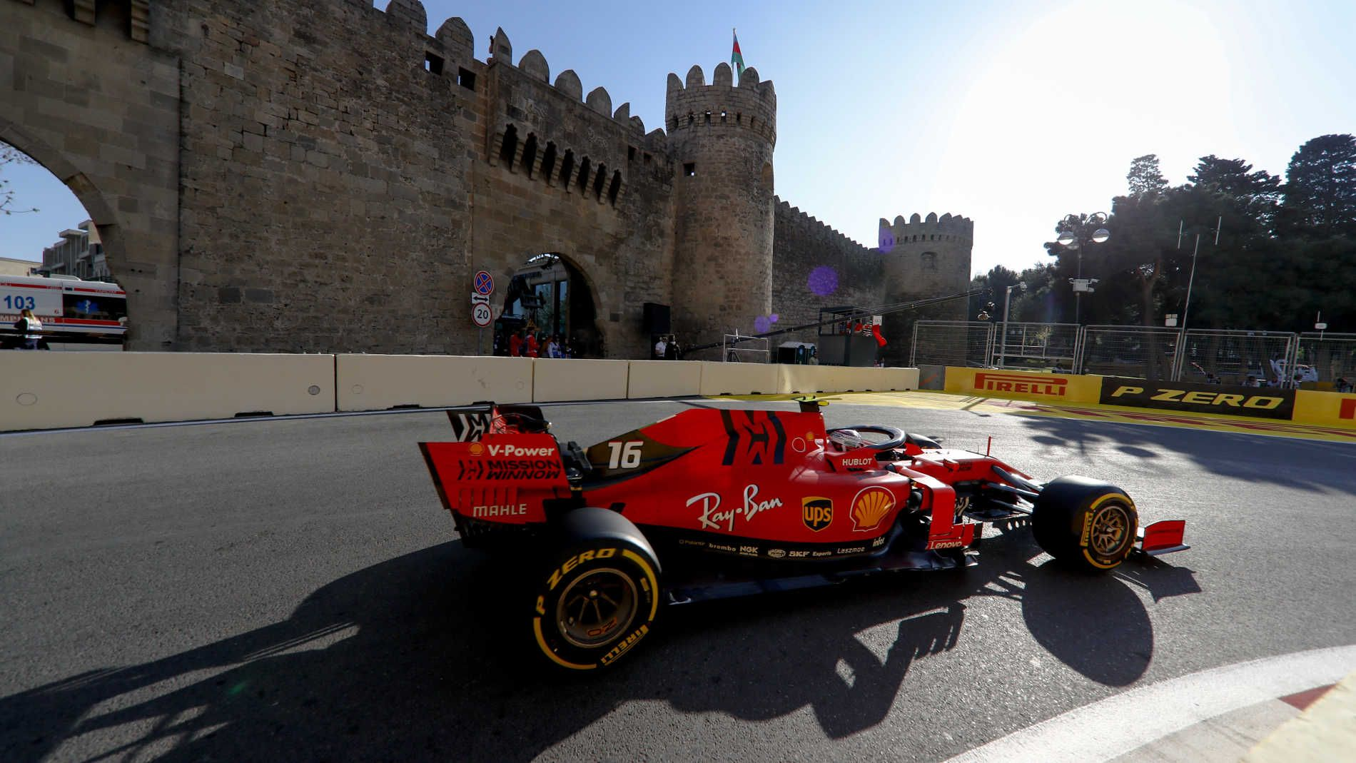 Highlights And Report From Fp2 At The 2019 Azerbaijan Grand Prix Ferrari Well Clear In Baku As Leclerc Heads Vettel Formula 1 Azerbaijan Grand Prix Ferrari Grand Prix