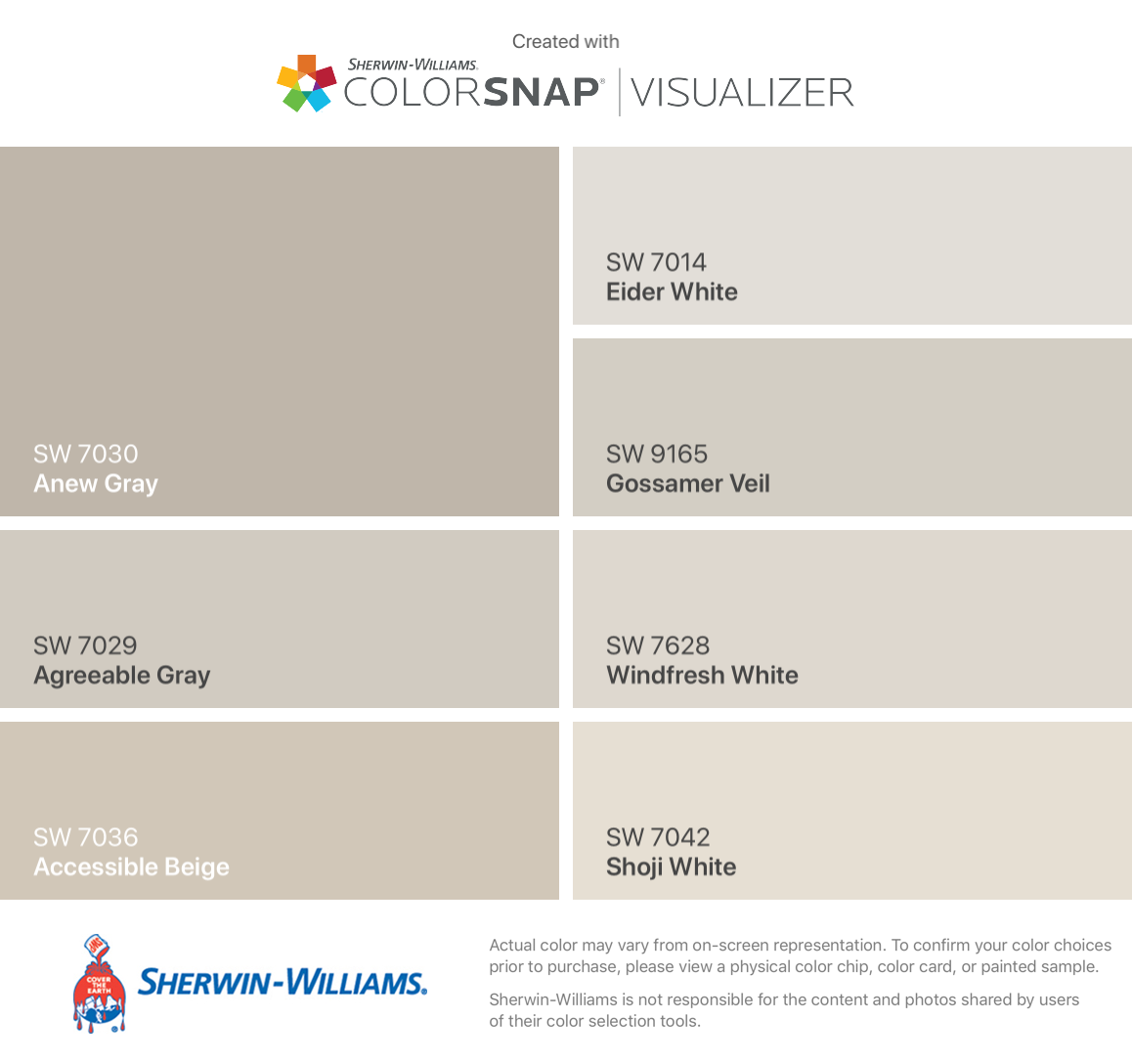 Recommended With Pink Red And Purple Bricks Anew Gray Sw 7030 Agreea Sherman Williams Paint Sherwin Williams Paint Colors Knitting Needles Sherwin Williams