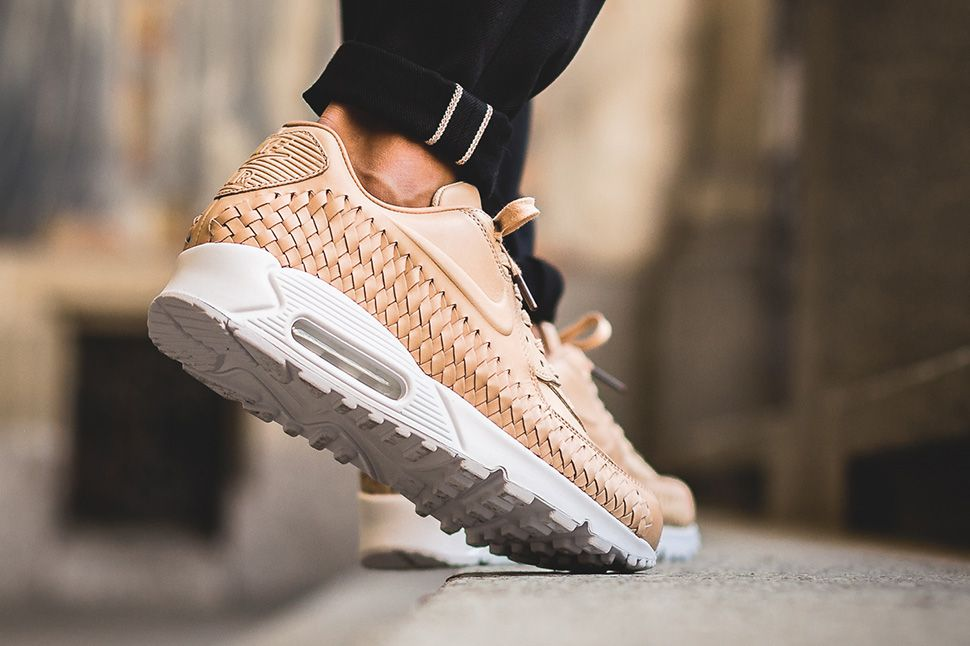 new concept dec0a 1c153 ... Nike Air Max 90 Woven On-Foot Preview new cheap 9b9e5 9275d ...