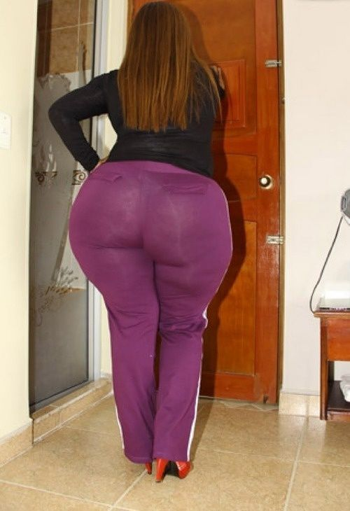 Bbw booty in dress pants