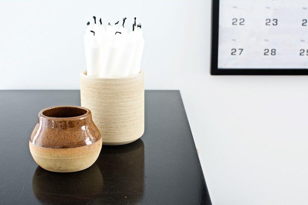 Use Vases For Storage Pencils Candles Knitting Needles Etc