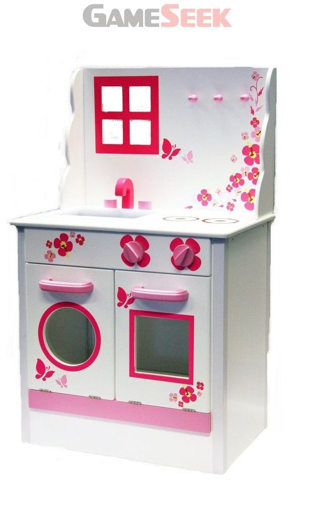 Wooden Country Kitchen Educational Toys Creative Play