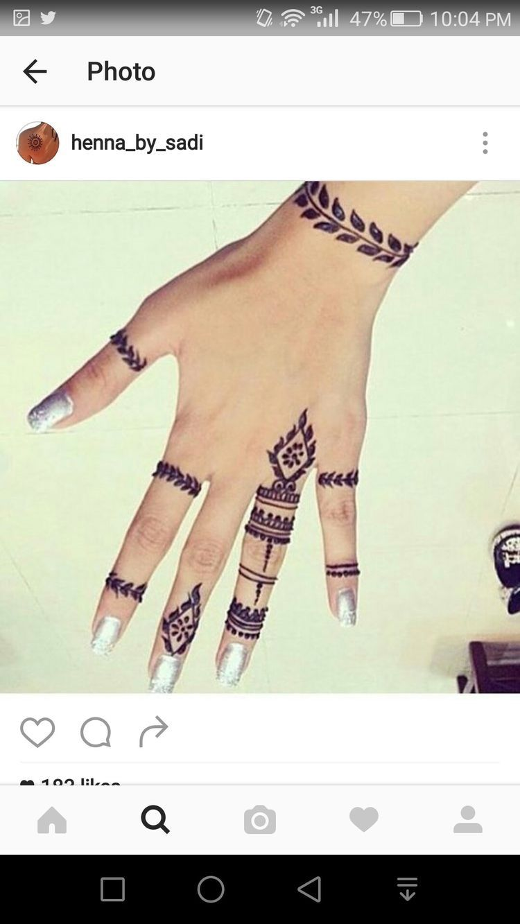 Pin By Shafi Qushari On نقش يد Henna Hand Tattoo Henna Hand Henna