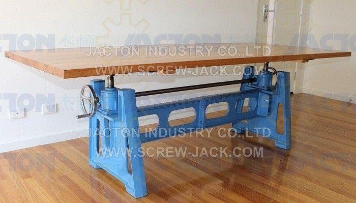 Hand Crank Table Lift Mechanism Handle Wheel