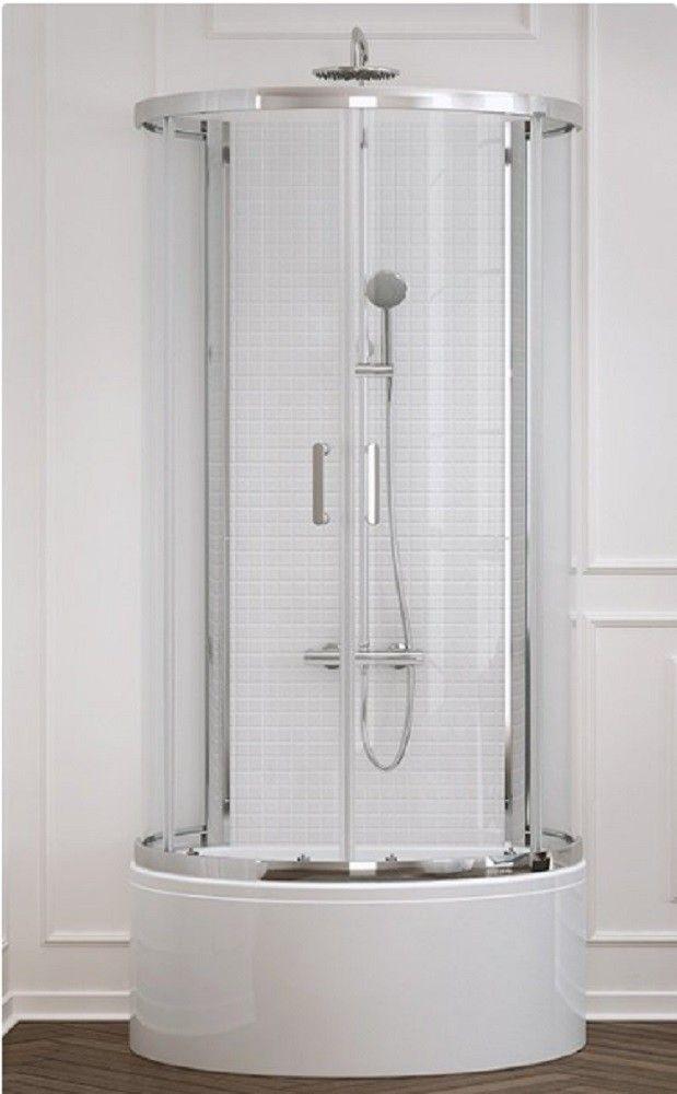 Duschkabine Dusche Duschwanne Badezimmer Design Art
