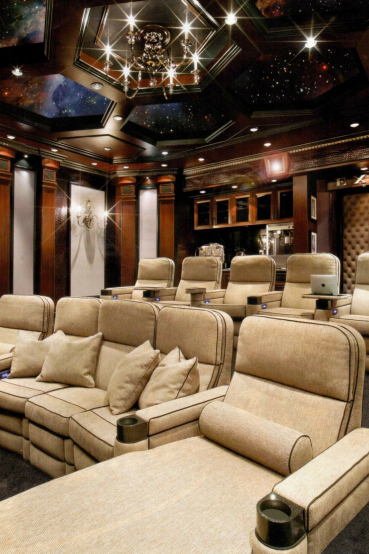 Marvelous ... Then You Need To Check Out These Tips That Will Help You Bring The True  Cinematic Experience To Your House. [Luxury Home Theatre Design ...