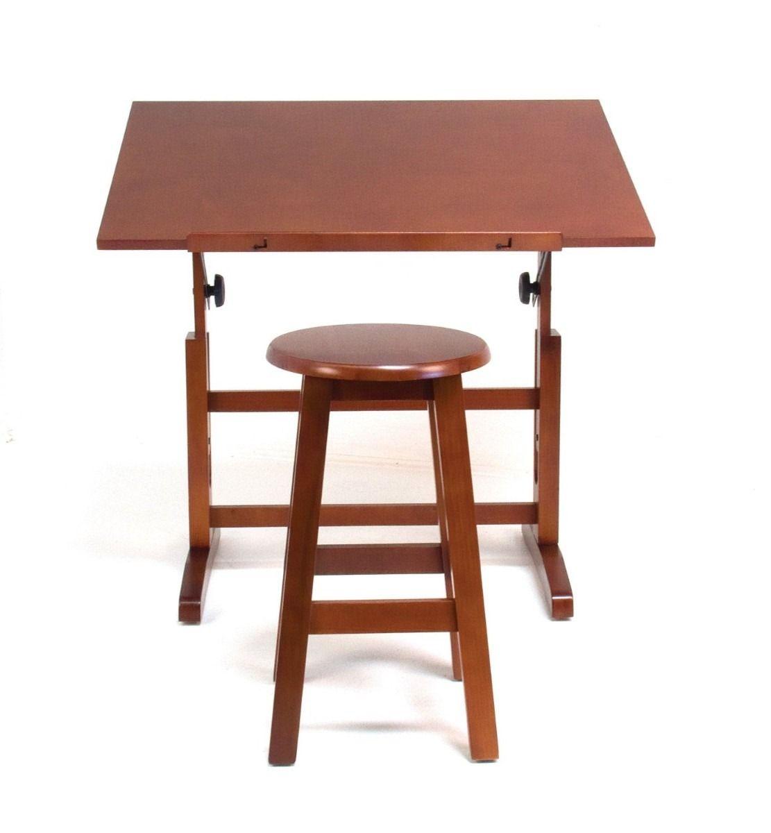 Mesa para dibujo artistico con silla escritorio dibujar for Sillas para escritorio