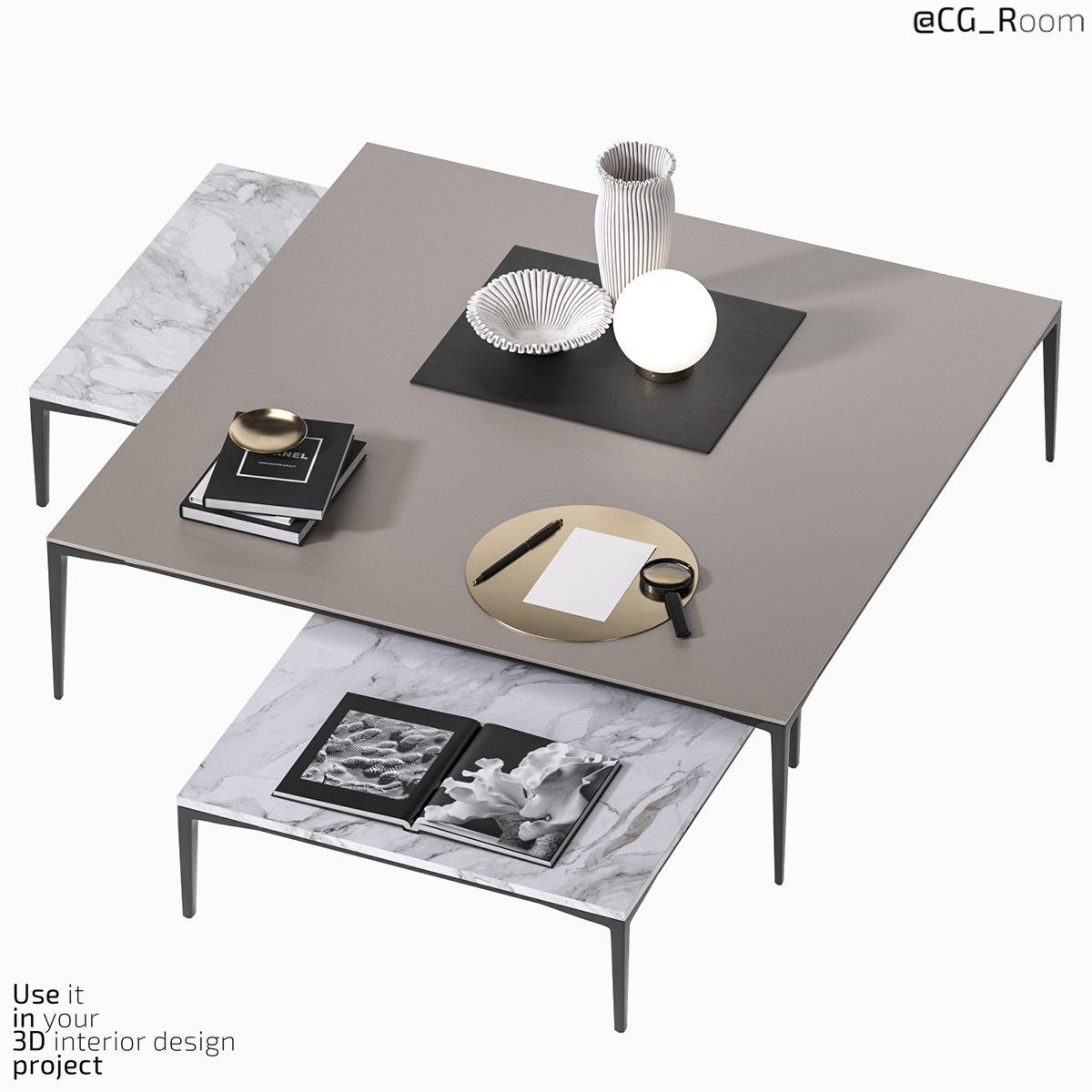 Coffee Table Tray 2 Rimadesio In 2020 Coffee Table Tray Coffee Table Tray Table [ 1200 x 1200 Pixel ]