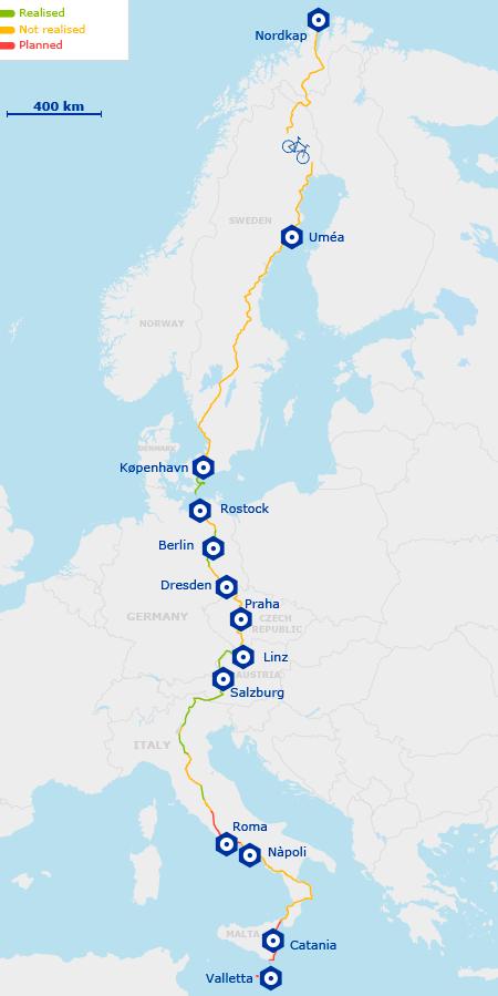 Eurovelo 7 Prague To Linz Road Trip Europe Bike Trips Cycling Trips