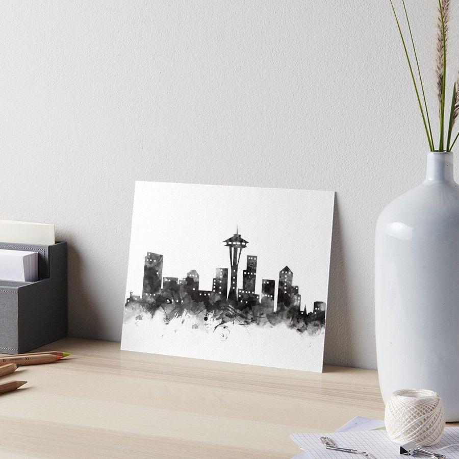 Seattle Skyline #seattle #washington #unitedstates #usa #state ...