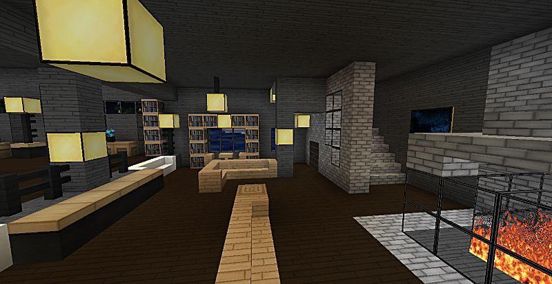 minecraft living room ideas - Google Search   Living room ...
