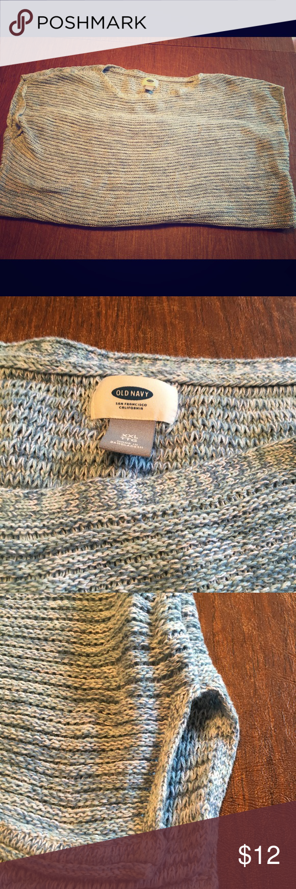 Old Navy Plus Size Summer Sweater | Summer sweaters, Light blue ...