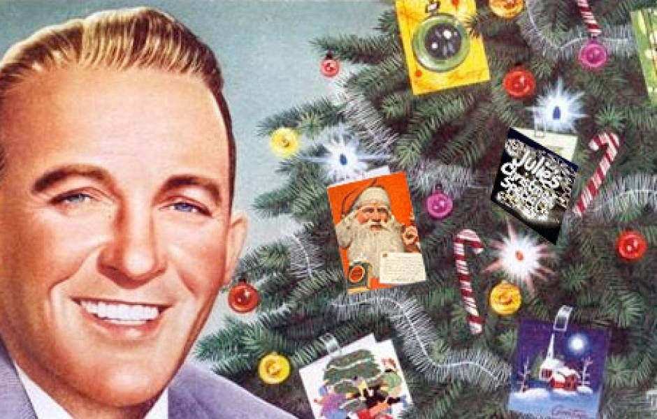 Bing Crosby, better believe I\u0027m listening to your Christmas cd