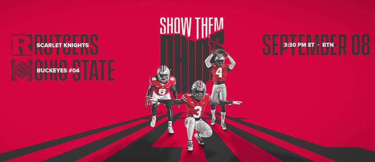 9 8 2018 Game 2 Rutgers Vs The Pregame Facebook Cover 2 Osu Football Ohio State University Ohio State