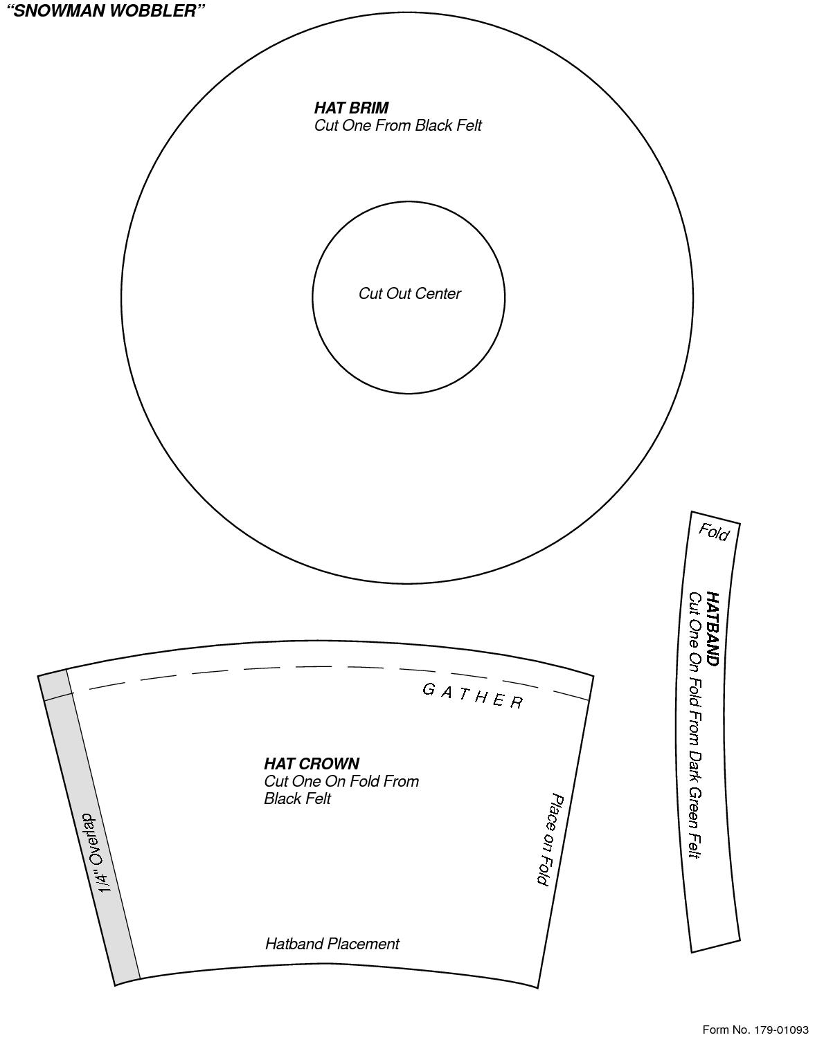 e26f1de361e2a Image result for snowman top hat template printable