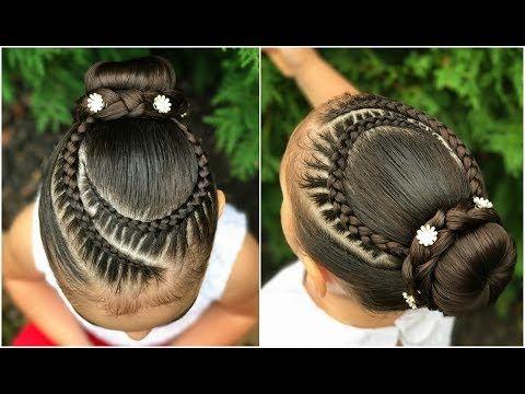 Peinado Elegante Para Niñas Con Trenzas Y Chongolph