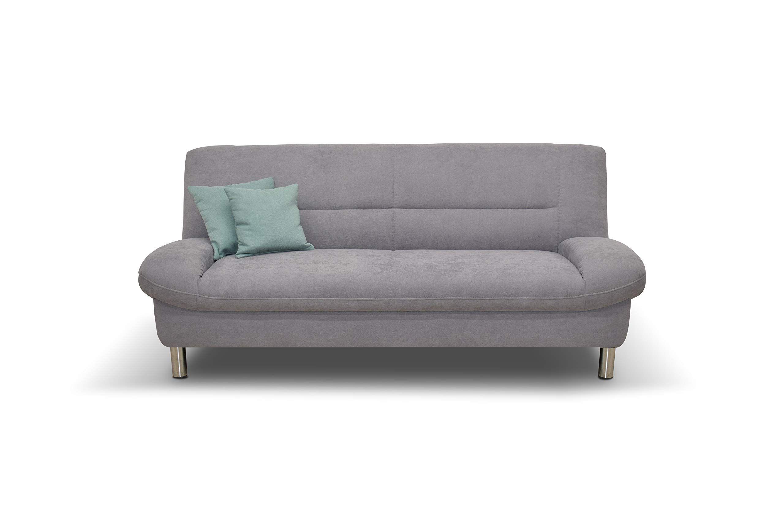 Domo Collection Asti Couch 2 Sitzer 2 Sitzer Sofa Breite 200 Cm Stoff Microfaser In Silber Grau 3 2 1 Sofa Garnitu In 2020 Couch 2 Sitzer 2 Sitzer Sofa Sofa