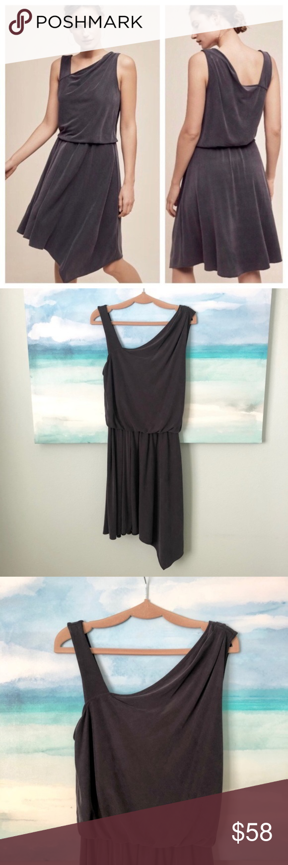 Anthropologie HD in Paris Assymetrical Abbie Dress (With