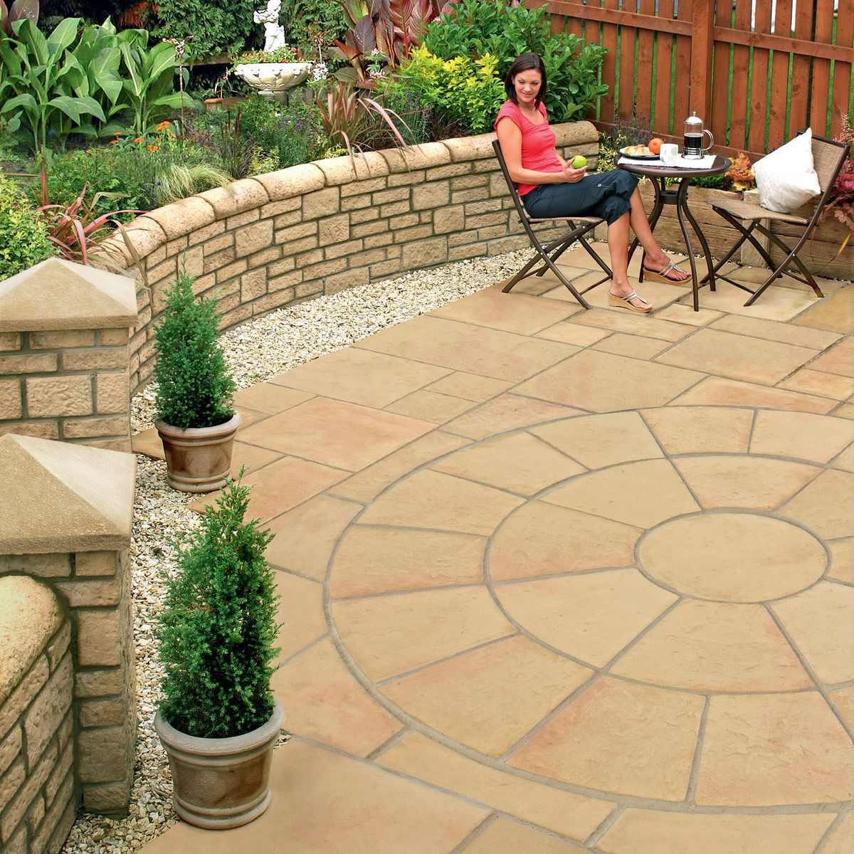 Patio Ideas With Existing Concrete Slab: Open Bricks For Driveways - Google Search