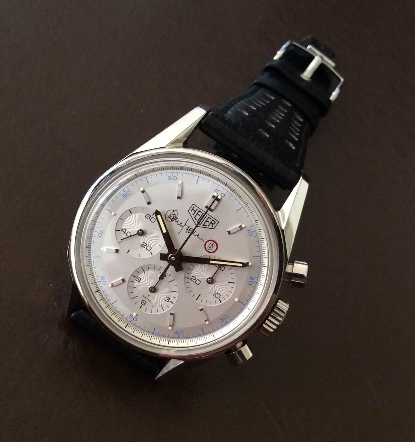 c58ba5f3c40cc Vintage Heuer Autavia GMT wHOROLOGy