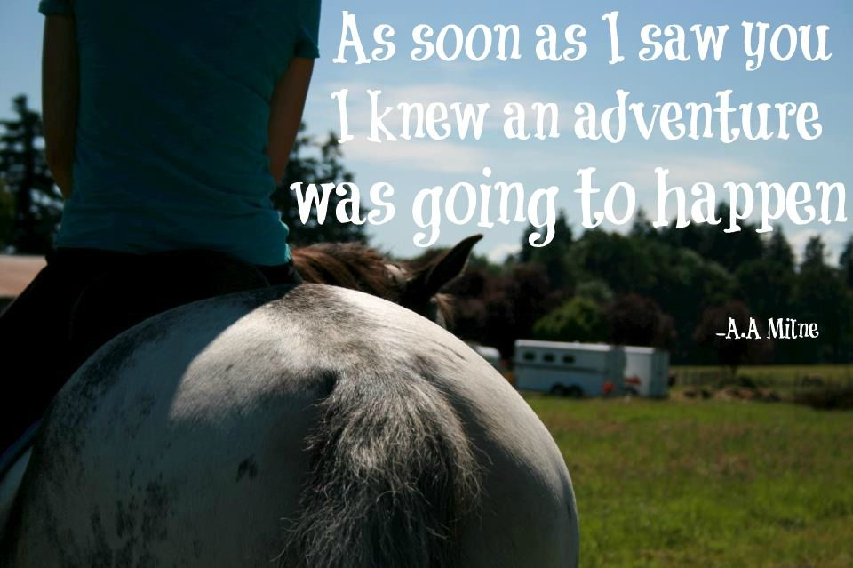 Adventure with the ones (human or animal) that you love.