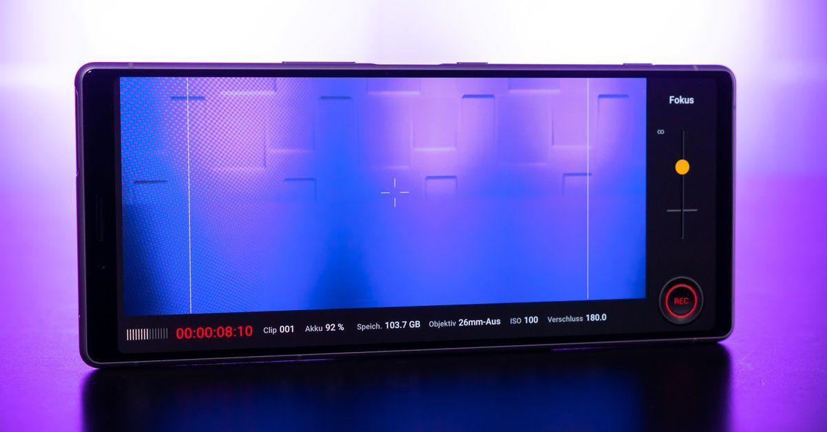 Sechs Linsen Sony Plant Neues Handy Mit Monster Kamera Neue Handys Sony Und Kamera