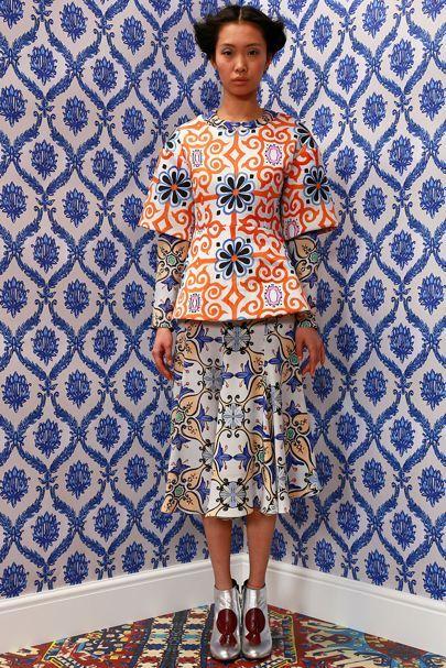 Tata Naka Coleção Outono Inverno Vogue Britânica