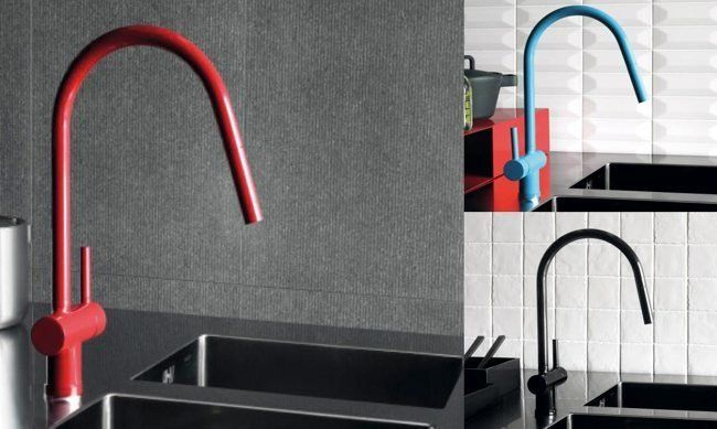 Diseño de grifos para la cocina#linea3cocinas