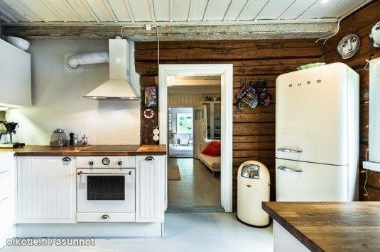 Skandinaavista lumoa vanhassa puutalossa | Oikotie - Kotiin