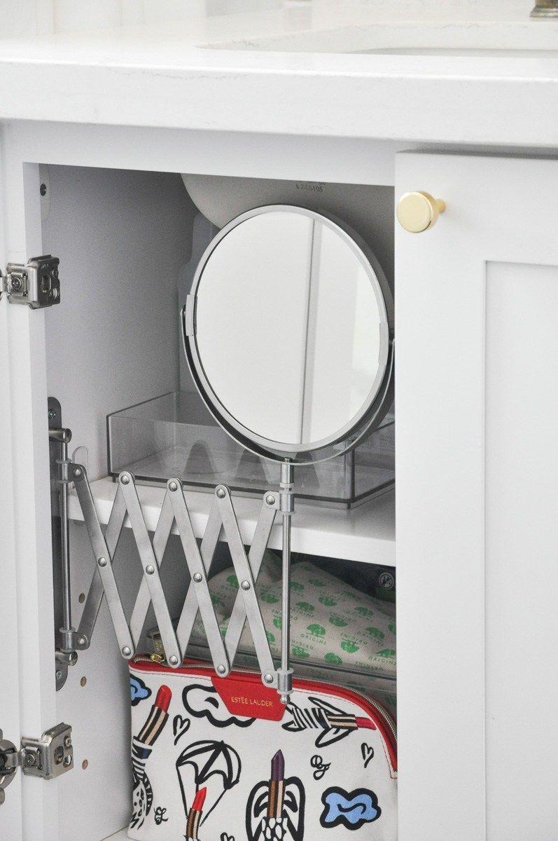 Diy Bathroom Vanity Inside Mirror Ikea Frack Mirror Hack Diy