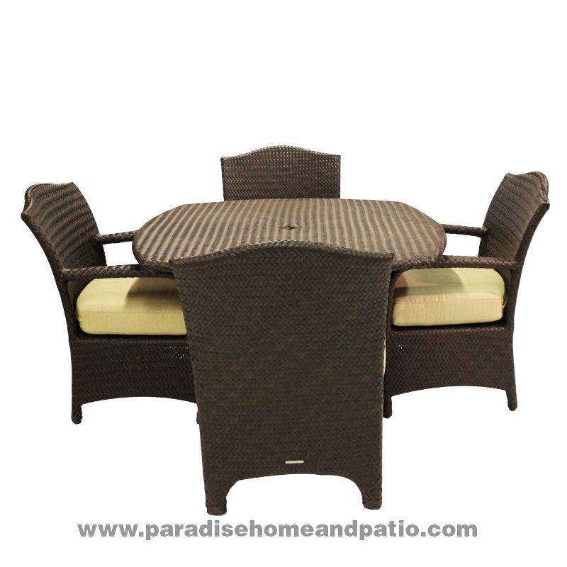 Brown Jordan Havana Collection Cane Resin Wicker Outdoor Furniture