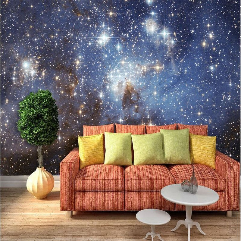 Outerspace 3D Wall Paper , Ceiling Mural 3d wall murals